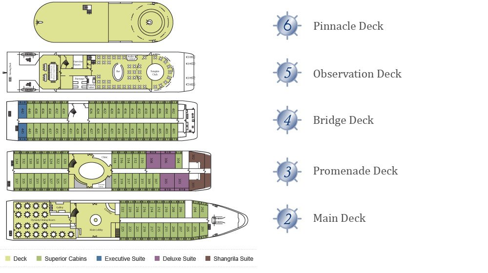 Deck Plan von Victoria Grace