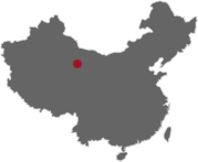 map of Dunhuang